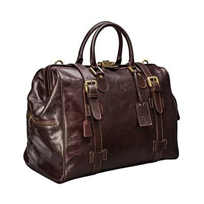 mejores bolsas de viaje de cuero