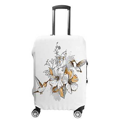 mejores fundas de flores para maletas