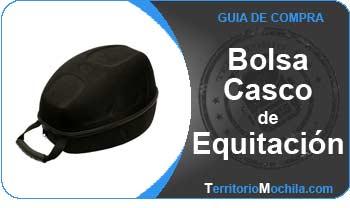 guia especializada en bolsas para cascos de equitacion