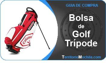 guia especializada en bolsas de golf con tripode