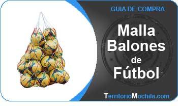 Guia de mallas y bolsas para balones de futbol