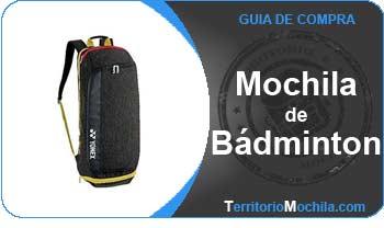 guia especializada en mochilas de badminton