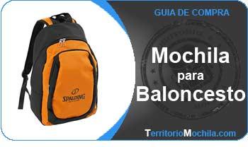 guia especializada en mochilas para baloncesto