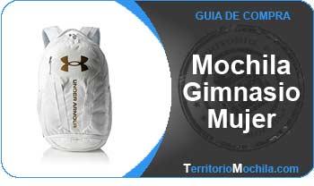guia especializada mochila gimnasio mujer