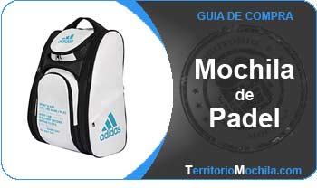 guia especializada en mochilas de padel