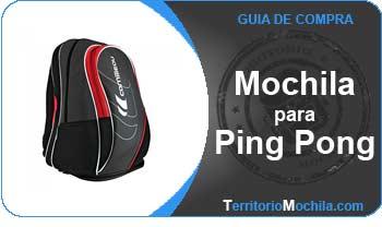 guia especializada en mochilas de ping pong