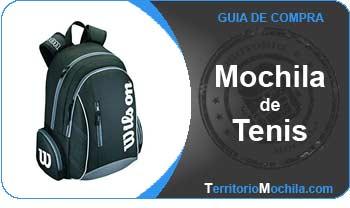 guia especializada en mochilas de tenis