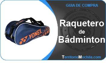 guia especializada raqueteros de badminton