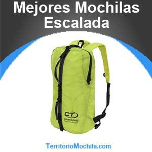 mejores mochilas de escalada
