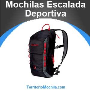 mejores mochilas de escalada deportiva