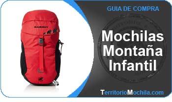 guia de compra mochilas montaña infantil
