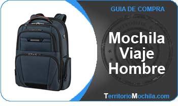guia especializada mochilas viaje hombre