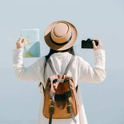 mochilas para hacer turismo